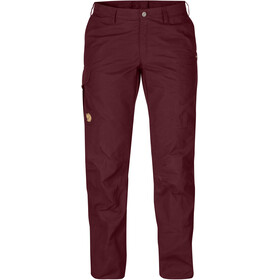 Fjällräven Karla Pro Trousers Curved Women dark garnet